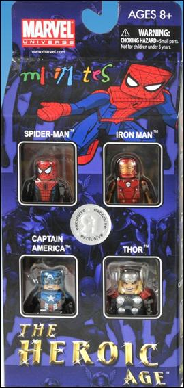 Marvel Minimates (Box Sets) Heroic Age 4-Pack by Diamond Select