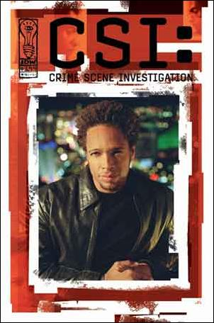 CSI: Crime Scene Investigation 4-B by IDW
