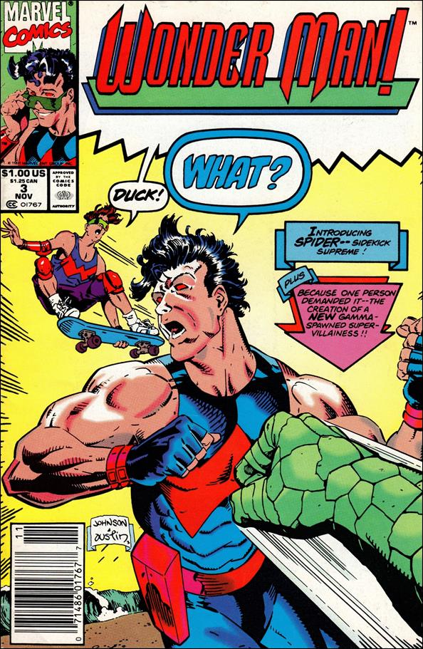 Wonder Man (1991) 3-A by Marvel