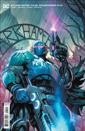 Batman Secret Files: Peacekeeper-01 1-B