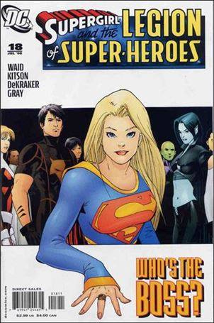 Supergirl and the Legion of Super-Heroes 18-A