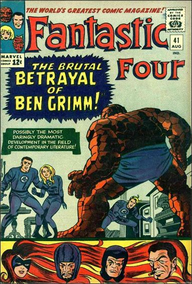 Fantastic Four (1961) 41-A by Marvel