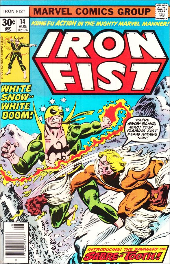 Iron Fist (1975) 14-A by Marvel