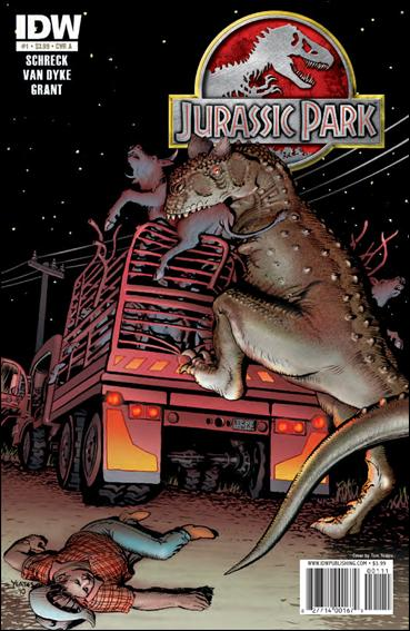 Jurassic Park (2010) 1-A by IDW