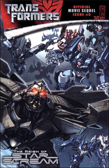 Transformers: The Reign Of Starscream 5-A by IDW