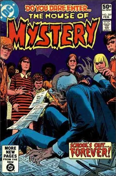 House of Mystery (1951) 289-A by DC