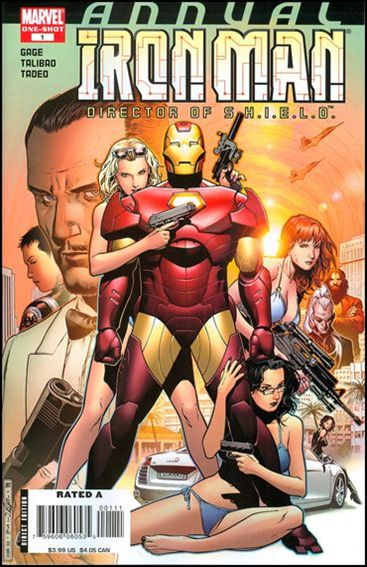 Iron Man Annual (1970) 2008-Z-INVALID by Marvel