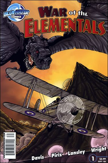 War of the Elementals 1-A by Bluewater Comics