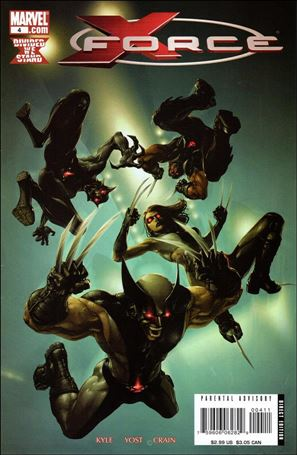 X-Force (2008) 4-A