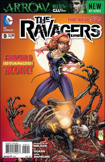 Ravagers 9-A by DC