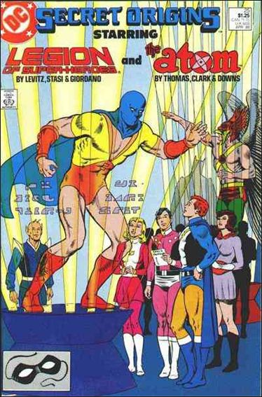 Secret Origins (1986) 25-A by DC