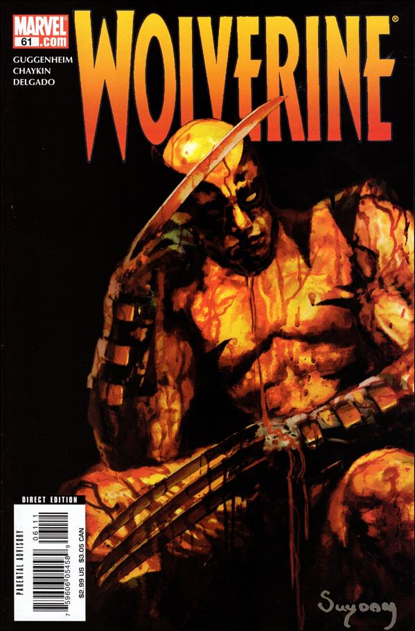 Wolverine (2003)  61-A by Marvel