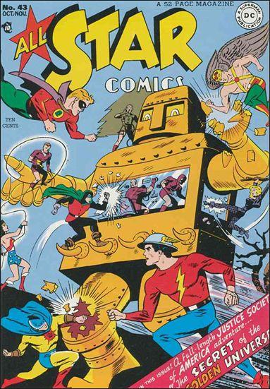 All Star Comics (1940) 43-A by DC