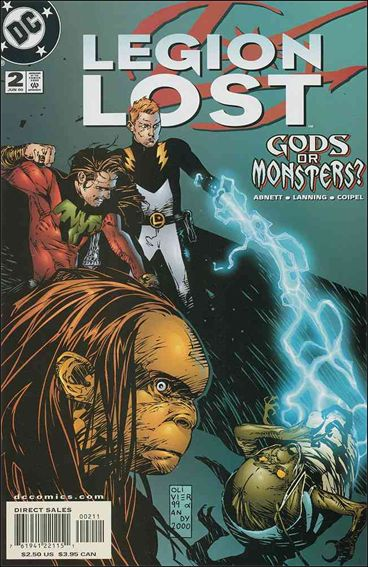 Legion Lost (2000) 2-A by DC