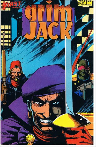 Grimjack 19-A by First