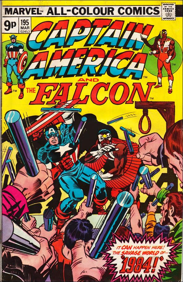 Captain America (1968) 195-B by Marvel