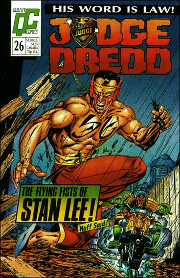 Judge Dredd (1986) 26-A by Quality Comics