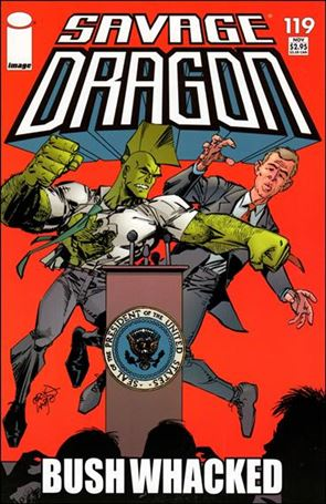 Savage Dragon (1993) 119-A