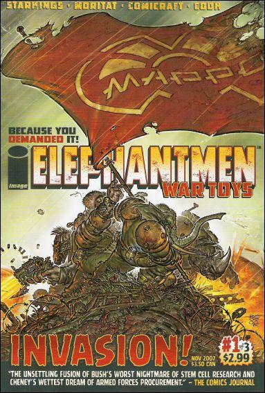 Elephantmen: War Toys 1-A by Image