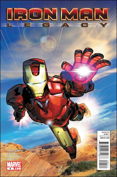 Iron Man Legacy 4-A by Marvel