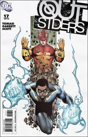 Outsiders (2009) 17-A by DC