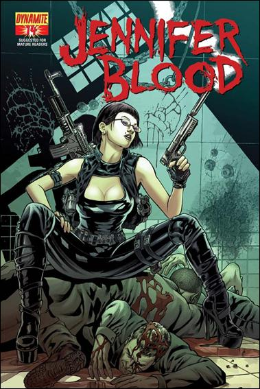 Jennifer Blood 14-B by Dynamite Entertainment