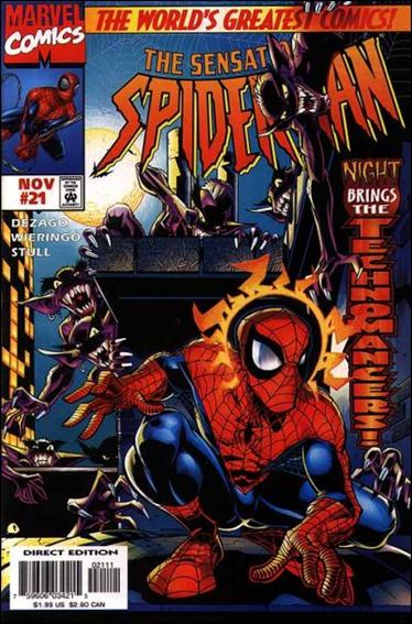 Sensational Spider-Man (1996) 21-A by Marvel