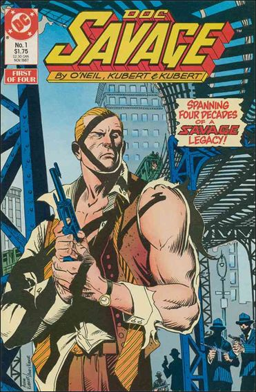 Doc Savage (1987) 1-A by DC