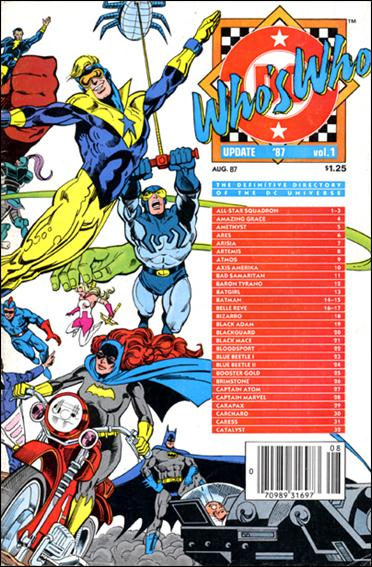 Who's Who: Update '87 1-A by DC