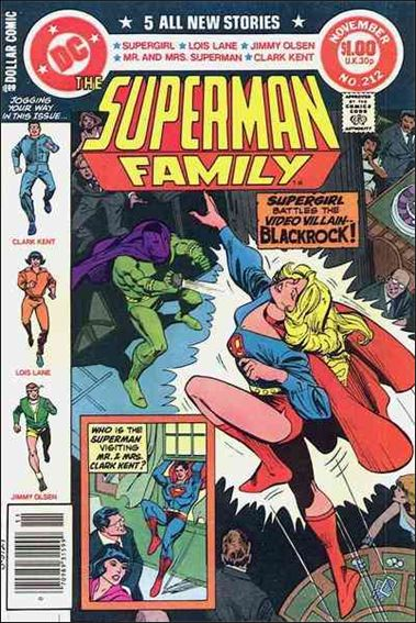 Superman Family 212-A by DC