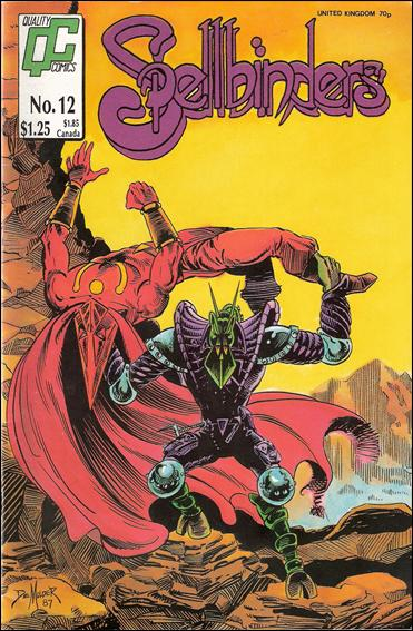 Spellbinders (1986) 12-A by Quality Comics
