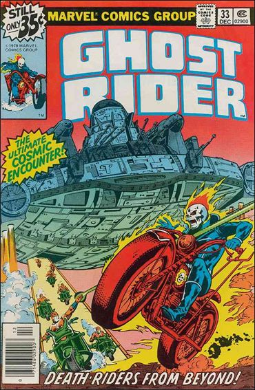Ghost Rider (1973) 33-A by Marvel