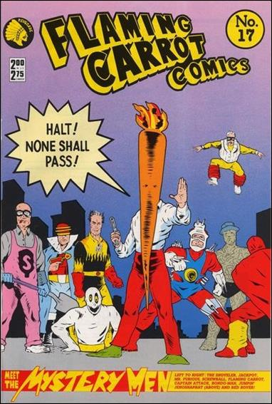 Flaming Carrot Comics (1984) 17-A by Dark Horse