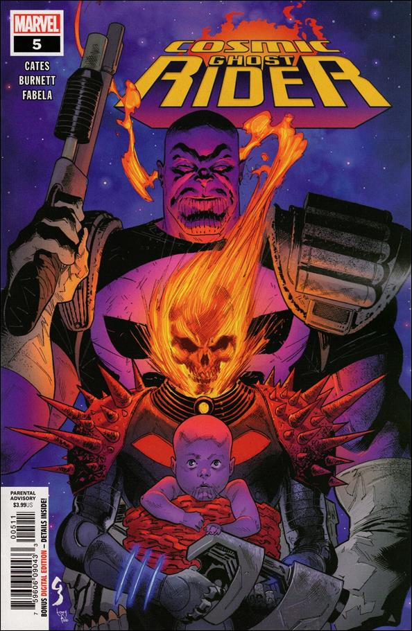 Cosmic Ghost Rider 5-A by Marvel