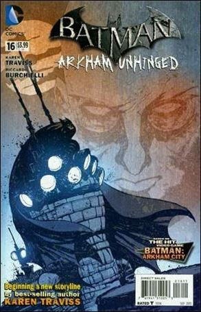 Batman: Arkham Unhinged 16-A