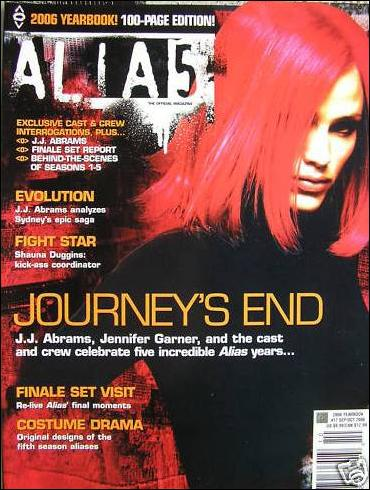 Alias: The Official Magazine 17-A by Titan
