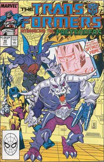 Transformers (1984) 40-A by Marvel