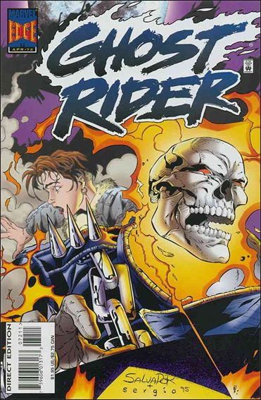 Ghost Rider (1990) 72-A by Marvel