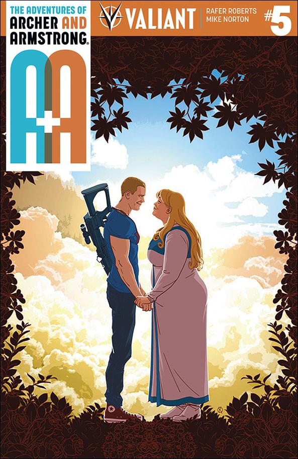 A&A: The Adventures of Archer & Armstrong 5-A by Valiant Entertainment