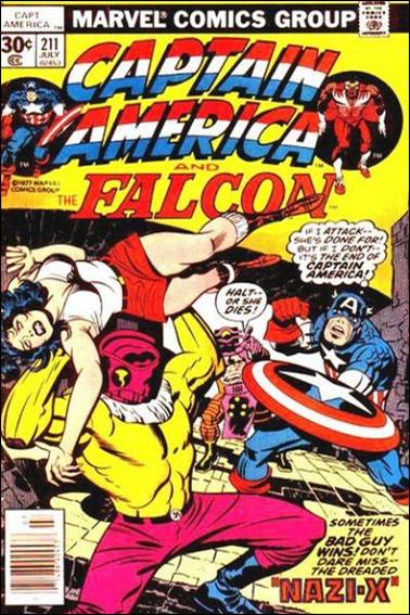 Captain America (1968) 211-A by Marvel