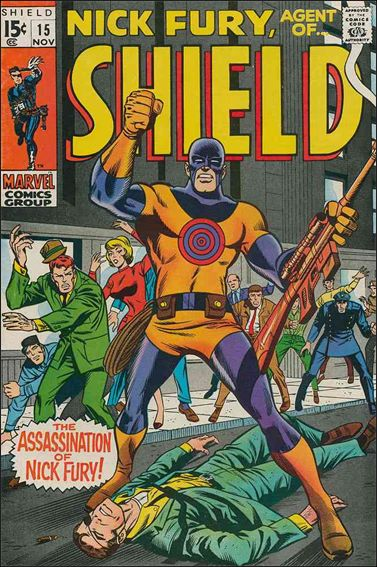 Nick Fury, Agent of S.H.I.E.L.D. (1968) 15-A by Marvel