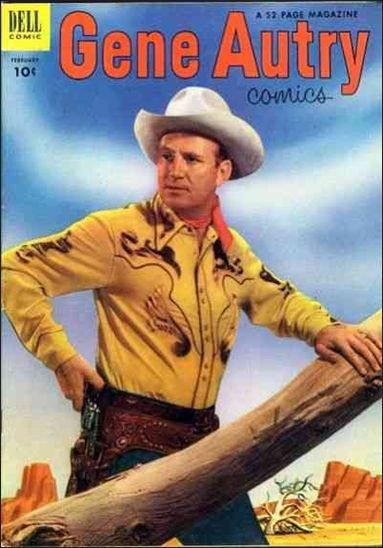 Gene Autry Comics (1946) 72-A by Dell