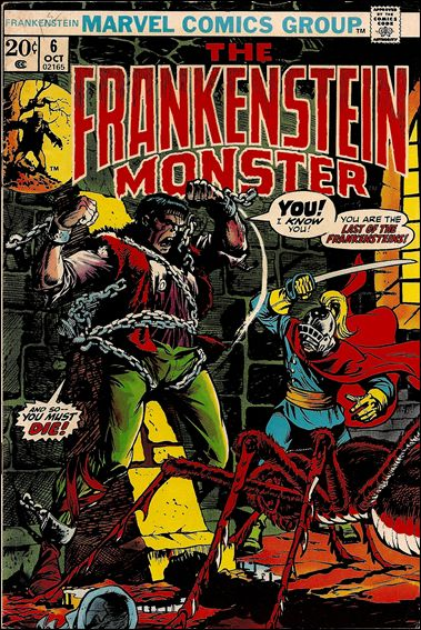 Frankenstein (1973) 6-A by Marvel