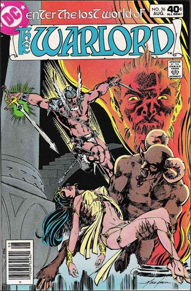Warlord (1976) 36-A by DC