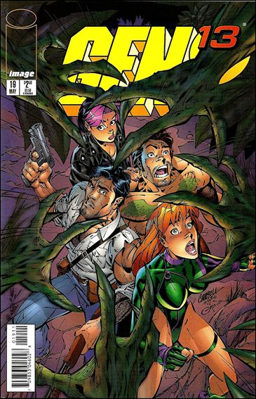 Gen13 (1995) 19-A by WildStorm