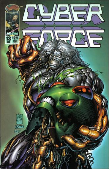 Cyberforce (1993) 13-A by Image