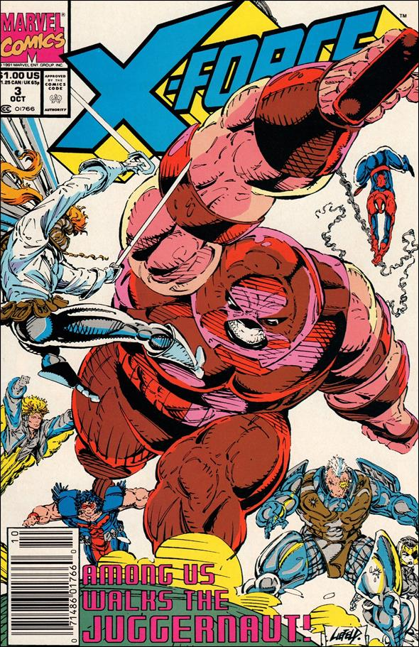 X-Force (1991) 3-A by Marvel