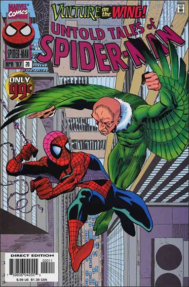 Untold Tales of Spider-Man 20-A by Marvel