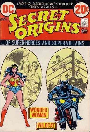 Secret Origins (1973) 3-A by DC