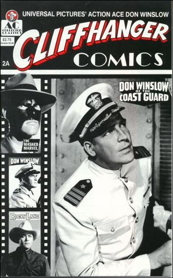 Cliffhanger Comics (1990) 2A-A by AC
